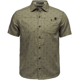 Black Diamond Solution SS Shirt Men sergeant print